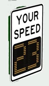 Portable Radar Speed Signs