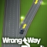 wrong way alert warning system