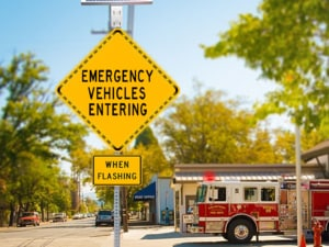 Firehouse egress and ingress system