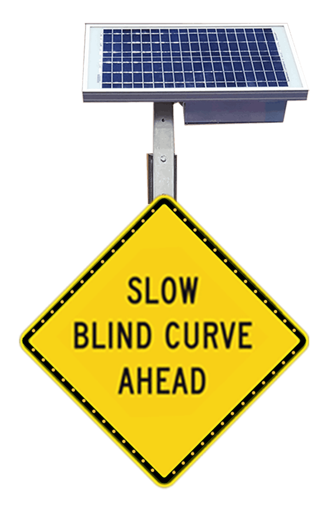 Slow Blind Curve