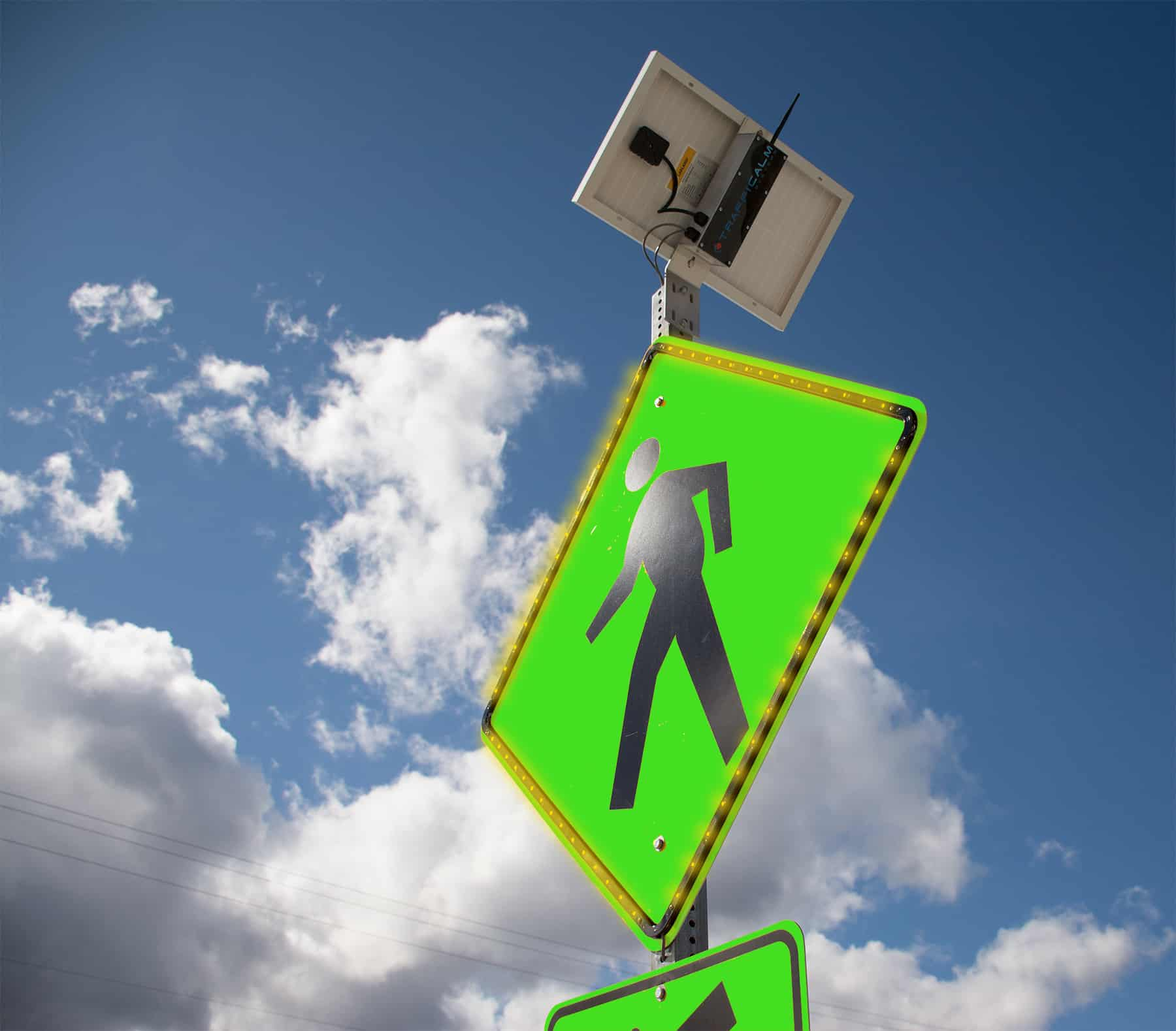 Safe Schools Promotional Trafficalm Radar Speed Signs And Traffic Ring Around Led Flasher Back To System