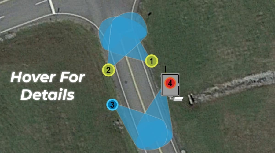 Typical Offramp Candidate for Wrong Way Warning